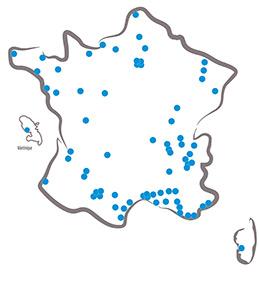 carte des centres rnpc