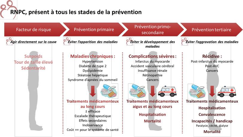 Stades de prévention